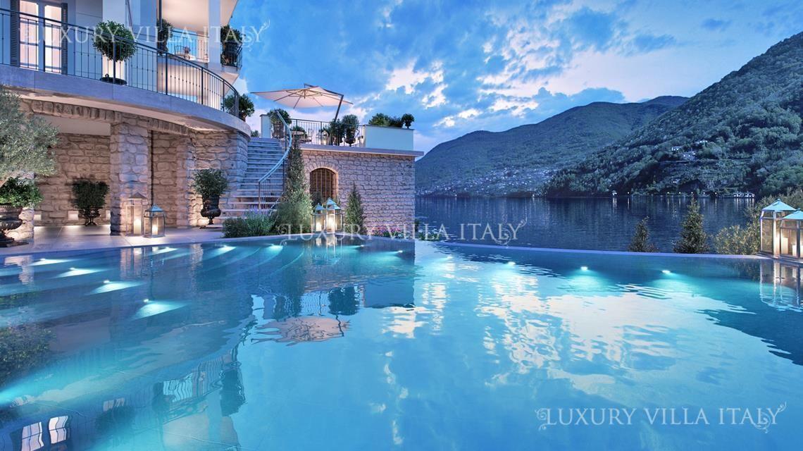 Дом у озера Комо, Италия, 500 м2 - фото 1