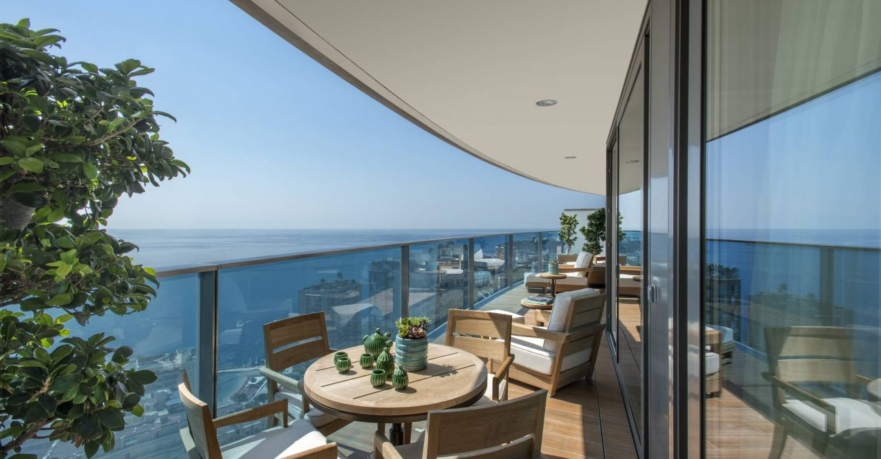 Апартаменты в Сен-Романе, Монако, 212 м2 - фото 1