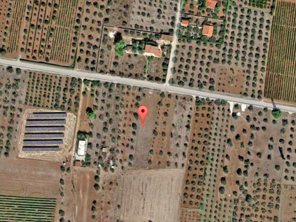 Земля в Коринфии, Греция, 1700 м2 - фото 1