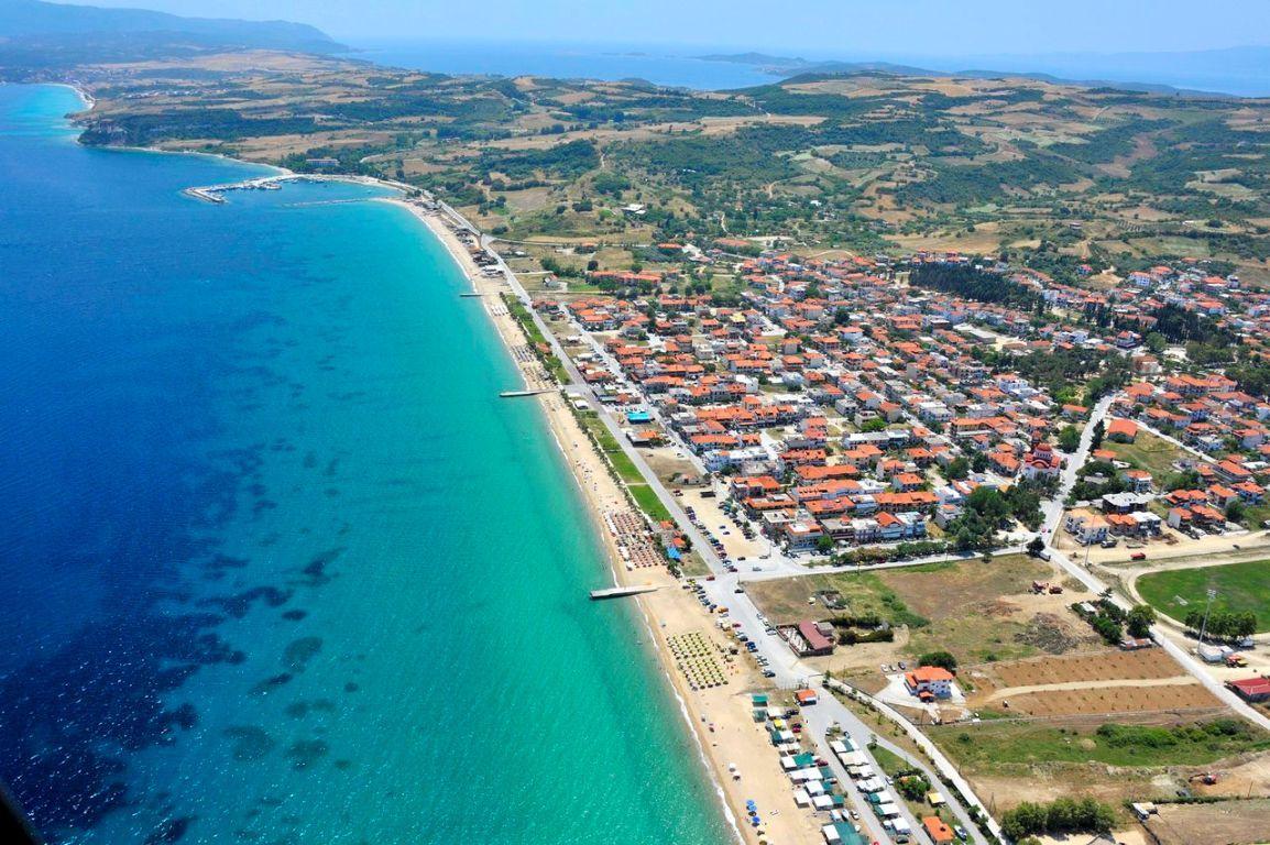 Земля на Афоне, Греция, 385 м2 - фото 1