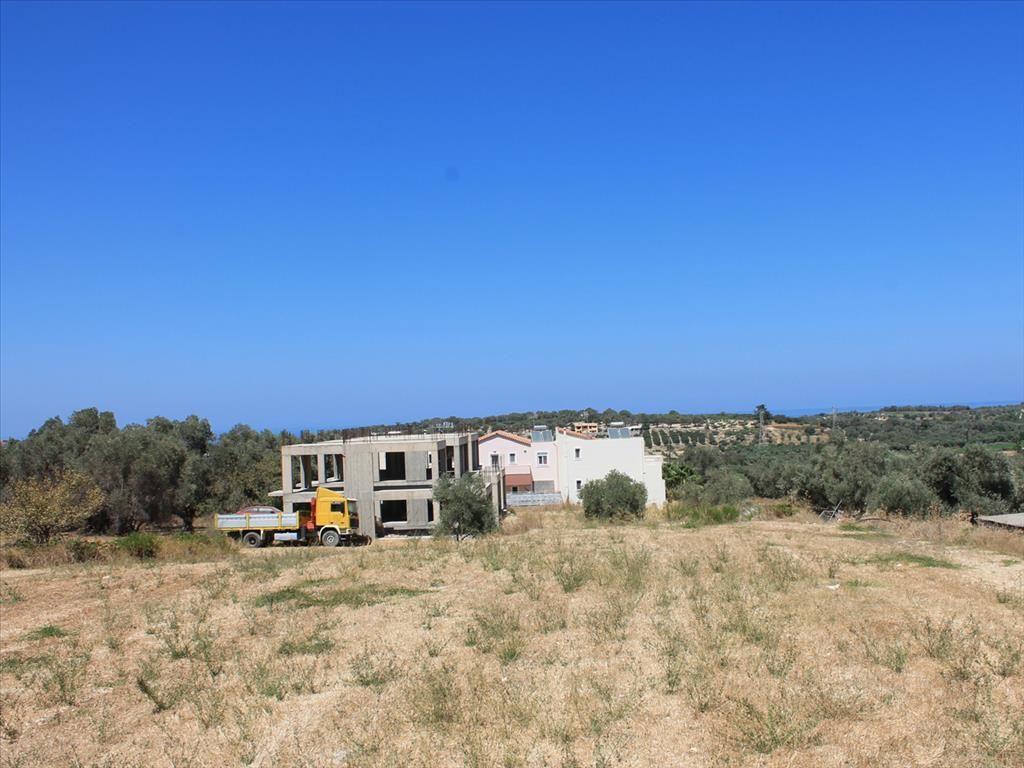 Земля в Ретимно, Греция, 1100 м2 - фото 1