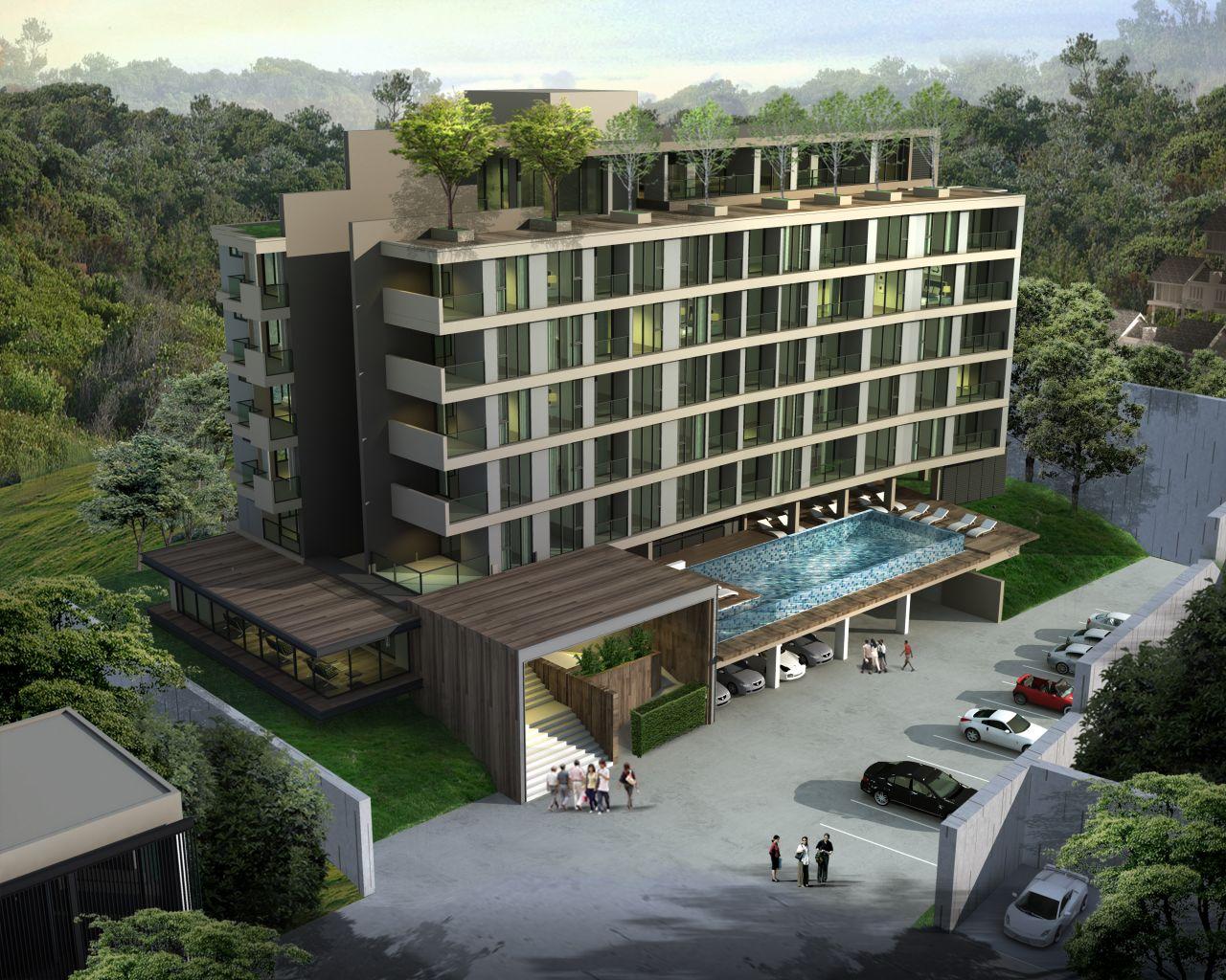 Апартаменты на Пхукете, Таиланд, 31 м2 - фото 1