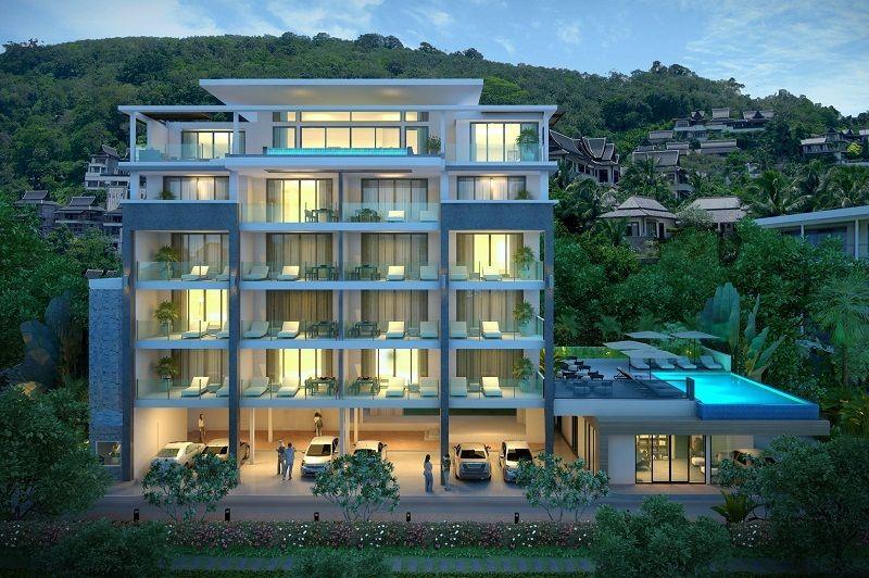 Апартаменты на Пхукете, Таиланд, 53 м2 - фото 1