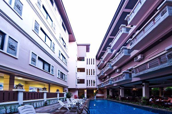 Отель, гостиница на Пхукете, Таиланд, 33 м2 - фото 1