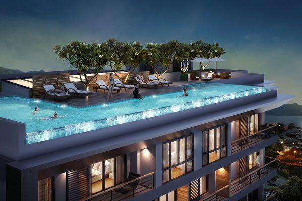 Апартаменты на Пхукете, Таиланд, 39 м2 - фото 1