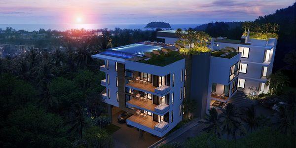Апартаменты на Пхукете, Таиланд, 28 м2 - фото 1