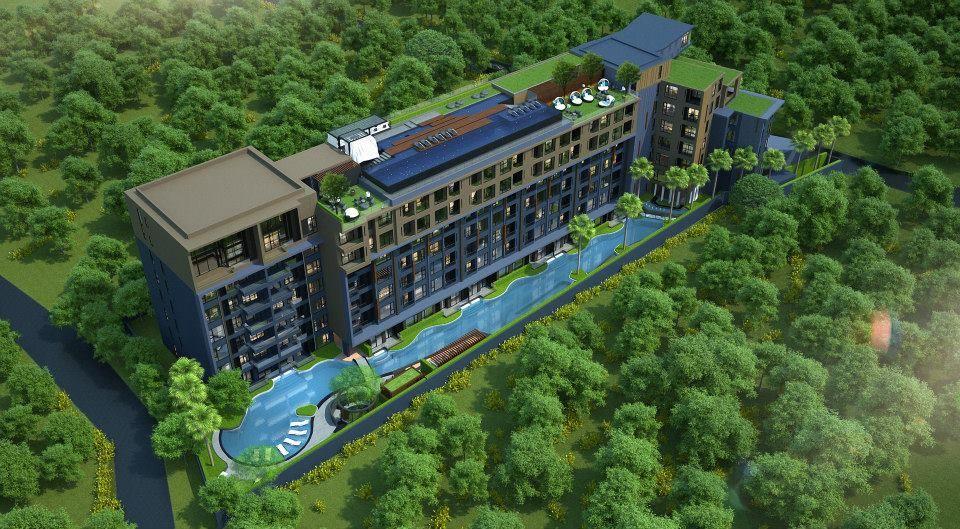 Апартаменты на Пхукете, Таиланд, 27 м2 - фото 1