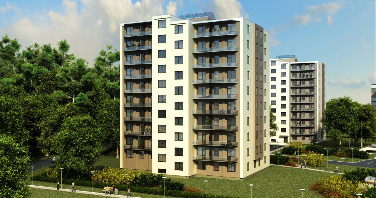 Апартаменты в Риге, Латвия, 52 м2 - фото 1