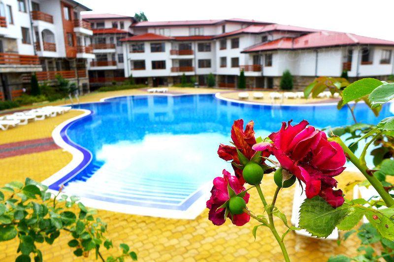 Апартаменты на Солнечном берегу, Болгария, 27.02 м2 - фото 1