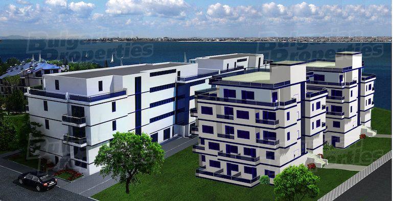 Апартаменты в Поморие, Болгария, 28.1 м2 - фото 1