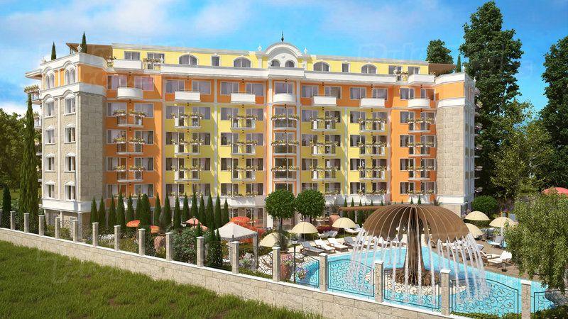 Апартаменты на Солнечном берегу, Болгария, 30.15 м2 - фото 1