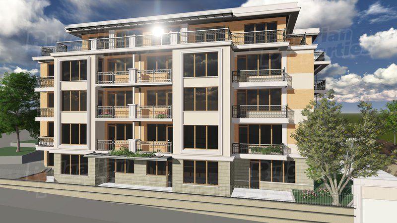 Апартаменты в Варне, Болгария, 36.63 м2 - фото 1