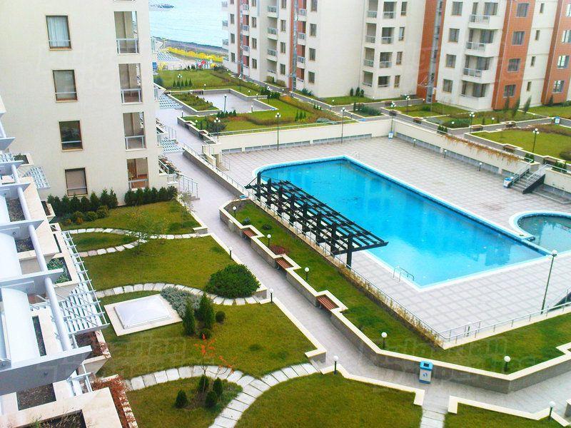 Апартаменты в Поморие, Болгария, 89.29 м2 - фото 1