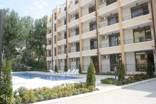 Апартаменты на Солнечном берегу, Болгария, 31.97 м2 - фото 1