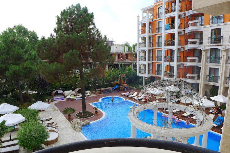 Апартаменты на Солнечном берегу, Болгария, 70.79 м2 - фото 1