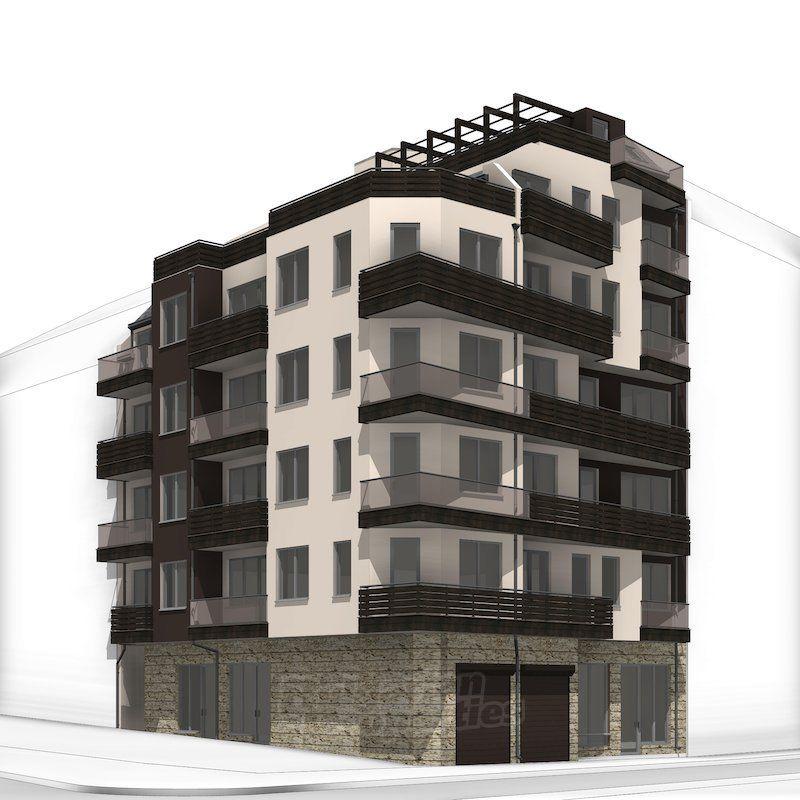 Апартаменты в Варне, Болгария, 58.37 м2 - фото 1