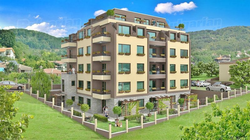 Апартаменты в Варне, Болгария, 56.41 м2 - фото 1