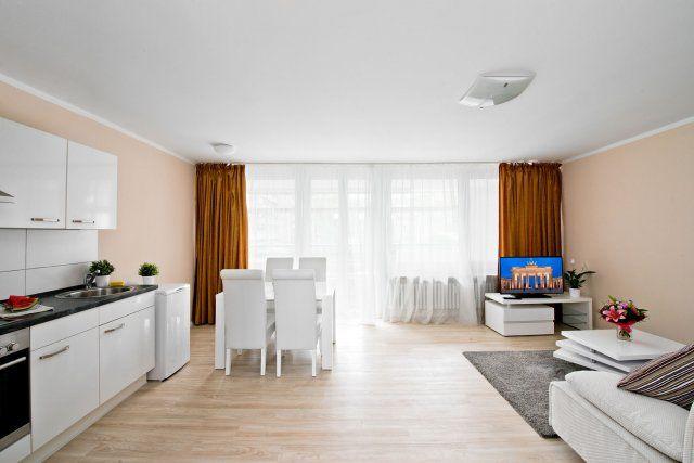 Симпатичная 2-ком квартира в городе под лейпцигом