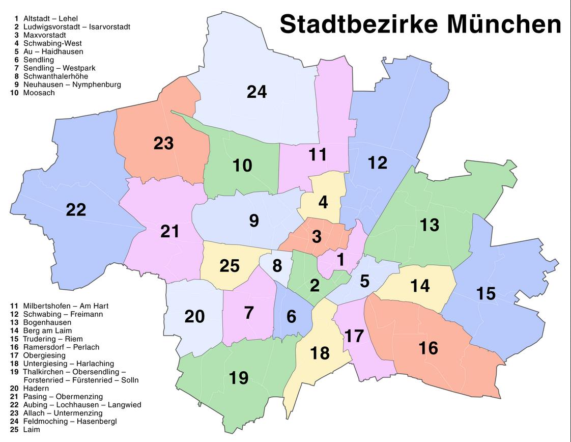 Земля в Мюнхене, Германия, 1072 м2 - фото 1