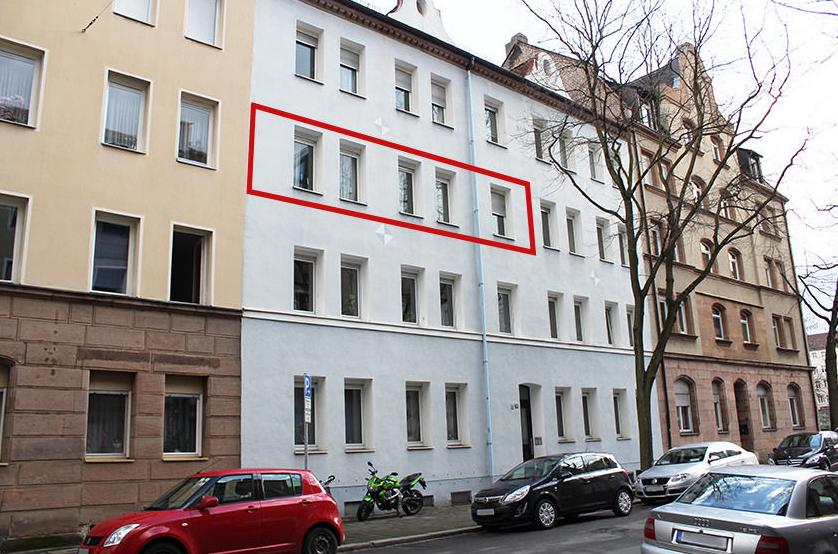 Квартира в Нюрнберге, Германия, 79 м2 - фото 1
