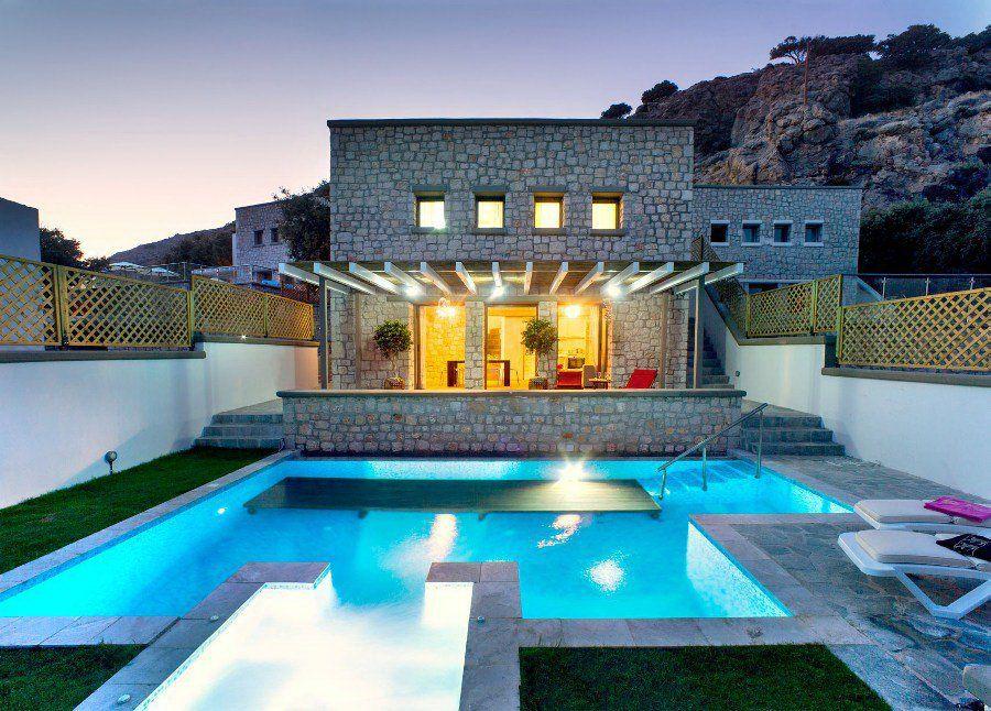 Коттедж на Родосе, Греция, 300 м2 - фото 1