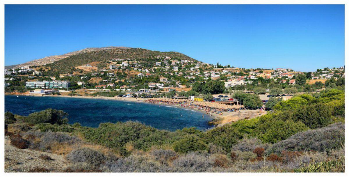 Земля в Сарониде, Греция, 1000 м2 - фото 1