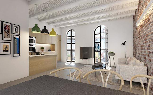 Апартаменты в Барселоне, Испания, 87 м2 - фото 1