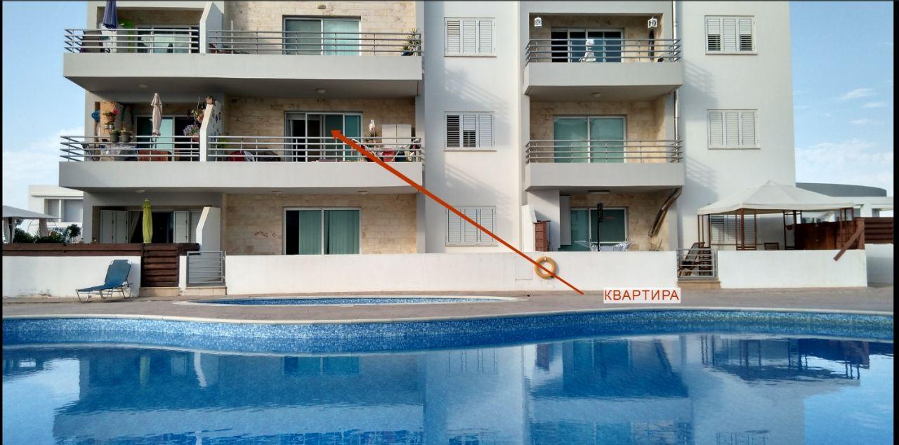 Апартаменты в Паралимни, Кипр, 57.42 м2 - фото 1