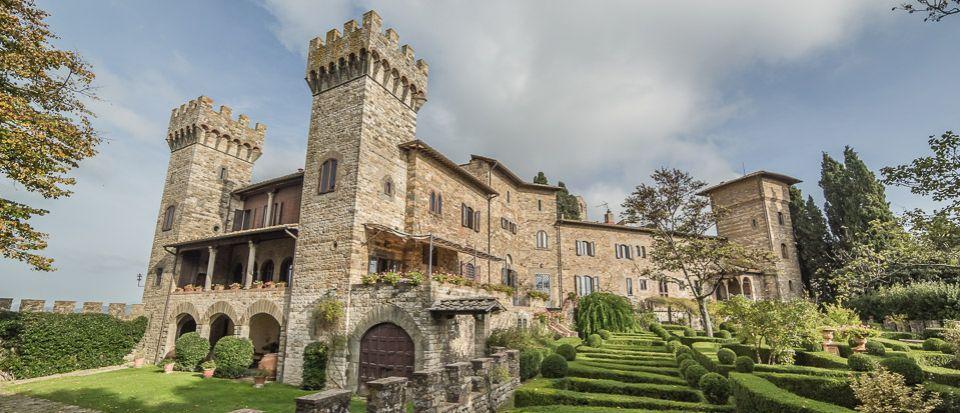 Замок в Кьянти, Италия - фото 1