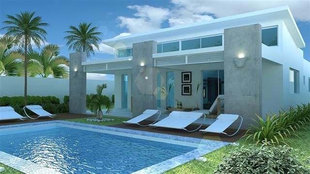 Дом в Сосуа, Доминиканская Республика, 130 м2 - фото 1