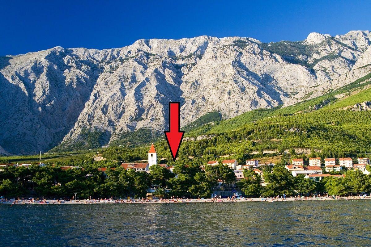 Апартаменты в Башка-Воде, Хорватия, 48 м2 - фото 1