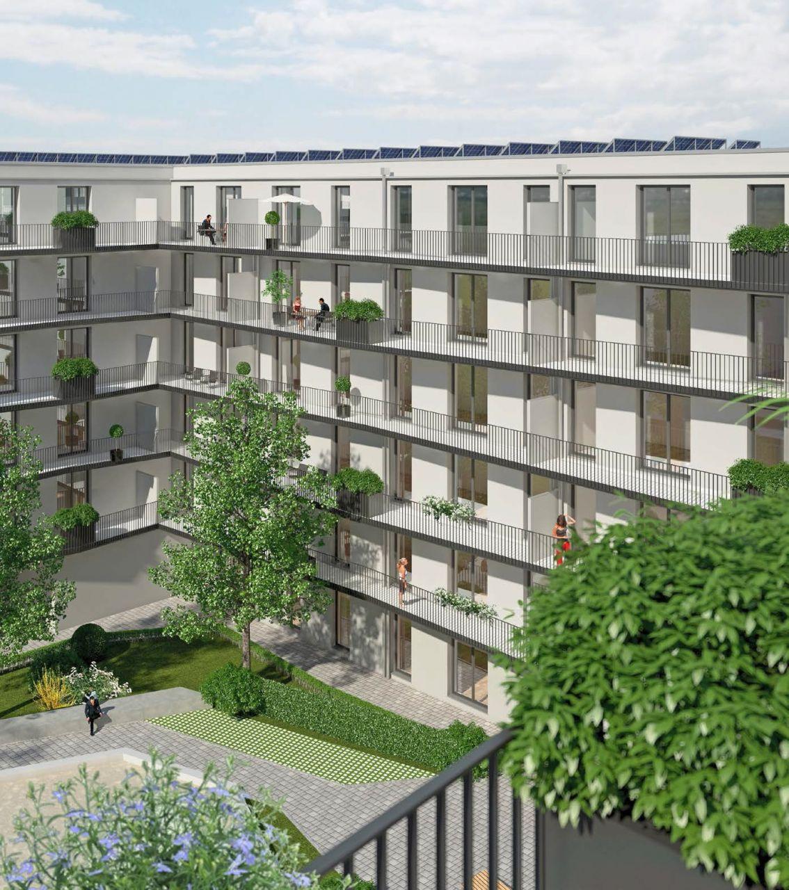 Квартира в Мюнхене, Германия, 56.12 м2 - фото 1