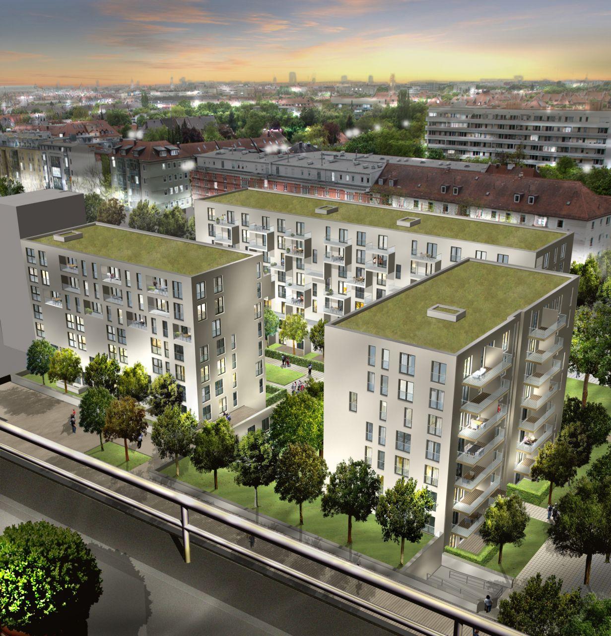 Квартира в Мюнхене, Германия, 55.4 м2 - фото 1