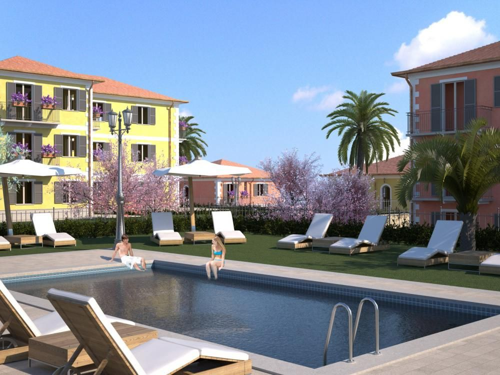 Апартаменты в Диано-Марина, Италия, 50 м2 - фото 1