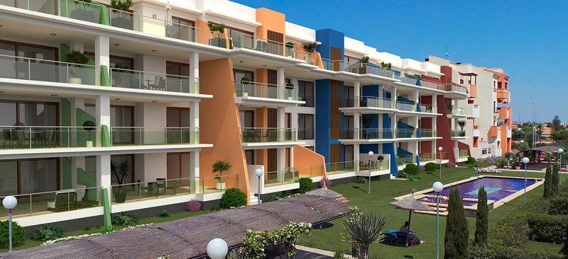Апартаменты на Коста-Бланка, Испания, 125 м2 - фото 1