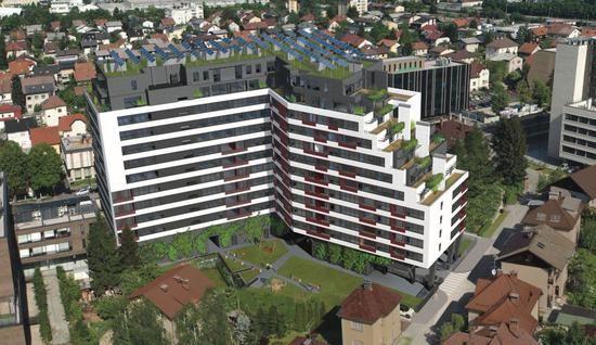 Коммерческая недвижимость в Любляне, Словения, 60.72 м2 - фото 1