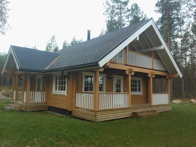 Коттедж в Руоколахти, Финляндия, 61.6 м2 - фото 1