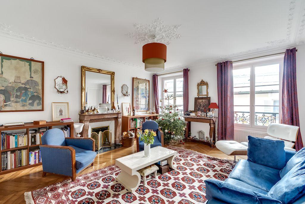 Квартира в Париже, Франция, 92 м2 - фото 1