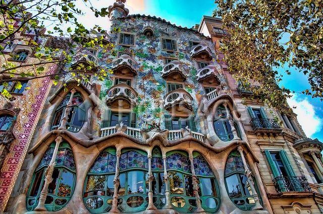 Отель, гостиница в Барселоне, Испания, 5400 м2 - фото 1