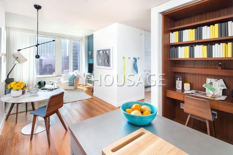 Квартира на Манхэттене, США, 77 м2 - фото 1