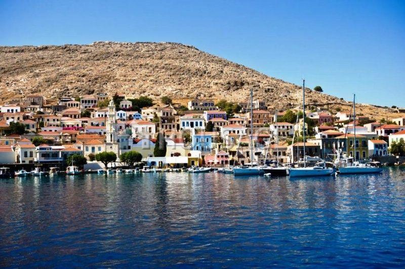 Земля Додеканес, Греция, 750 м2 - фото 1