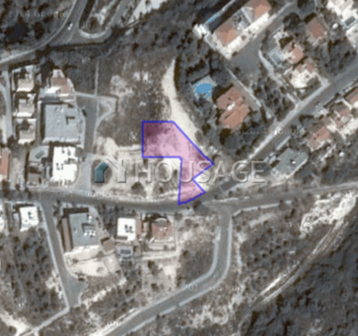 Земля в Пафосе, Кипр, 1027 м2 - фото 1