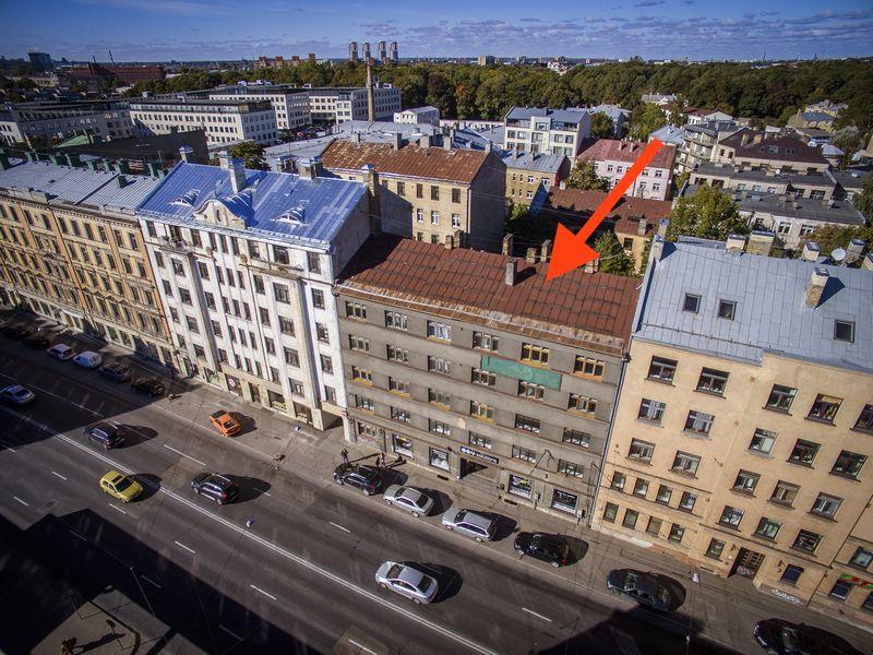 Доходный дом в Риге, Латвия, 1250.2 м2 - фото 1