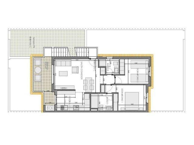 Апартаменты в Картахене, Испания, 55 м2 - фото 1