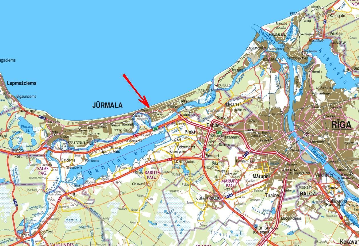 Коммерческая недвижимость в Риге, Латвия, 500 м2 - фото 1