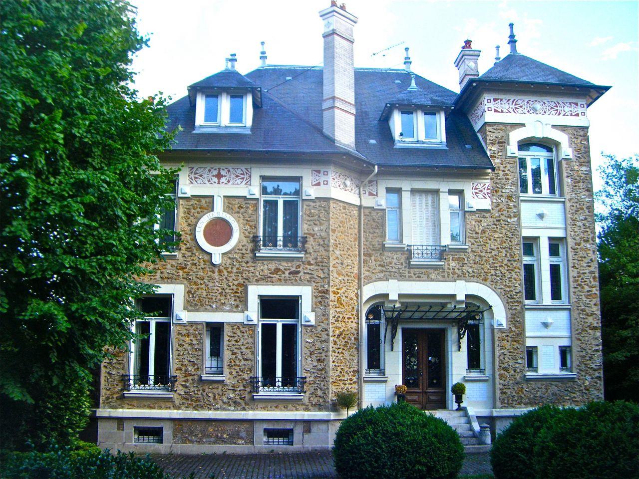 Особняк в Париже, Франция, 510 м2 - фото 1
