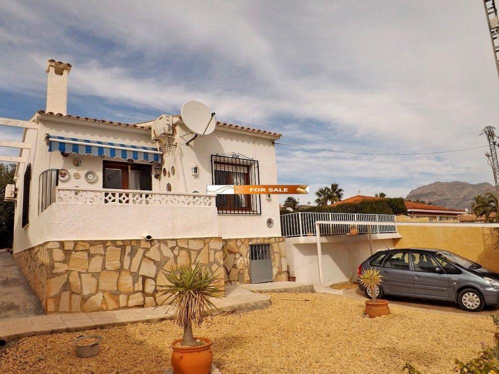 Недвижимость испания бенидорм с большим участком
