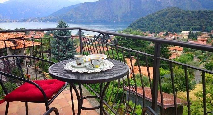 Вилла у озера Комо, Италия, 135 м2 - фото 1