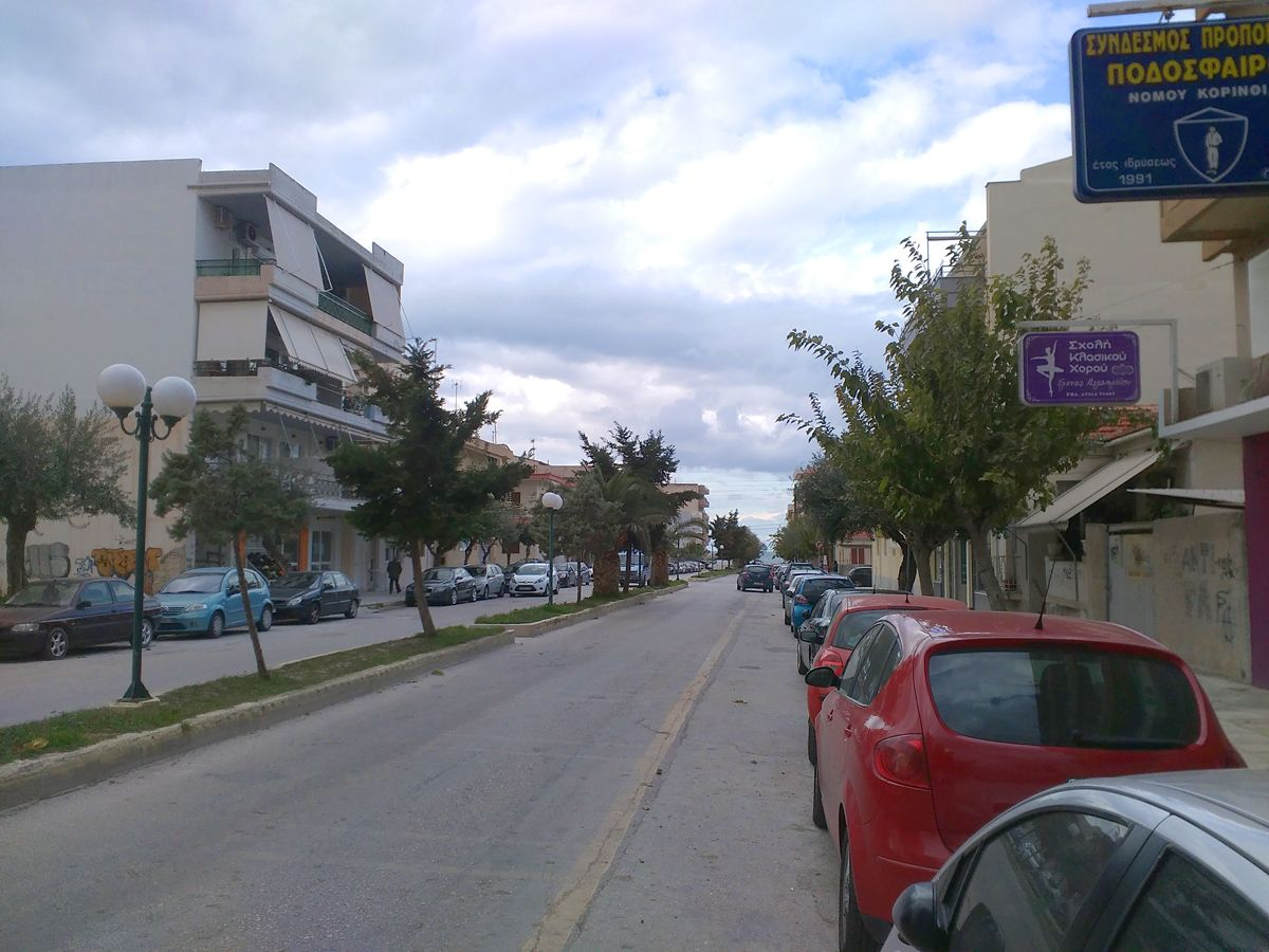 Студия в Коринфе, Греция, 25 м2 - фото 1