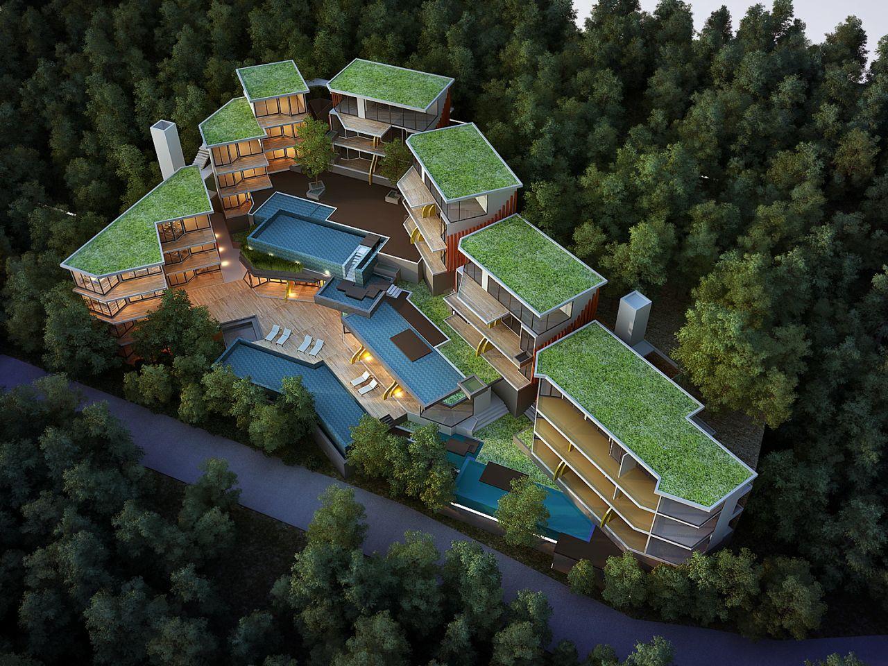 Апартаменты на Пхукете, Таиланд, 38 м2 - фото 1